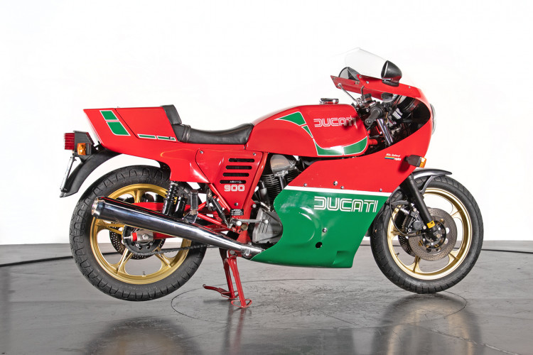 1983 Ducati 900 MIKE HAILWOOD REPLICA 4