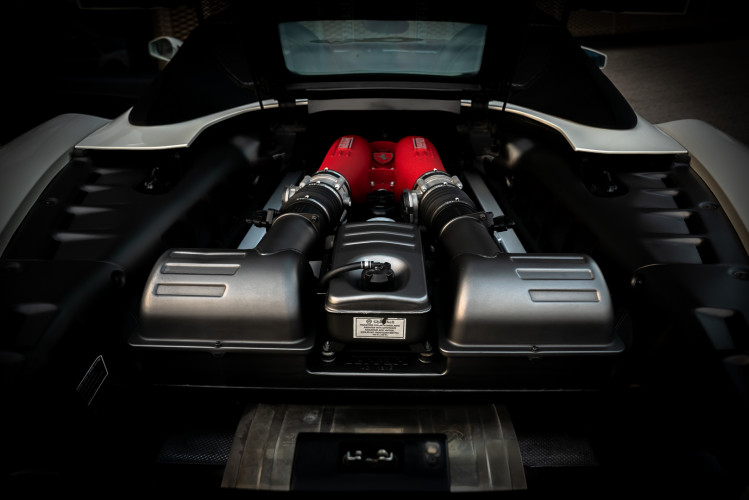 2008 Ferrari F430 Spider F1 43