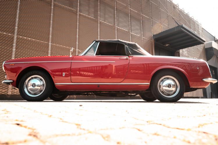 1962 Fiat 1200 Cabriolet Pininfarina 4
