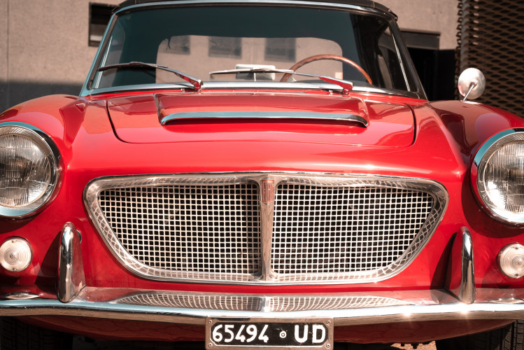 1962 Fiat 1200 Cabriolet Pininfarina 9