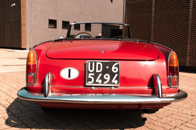1962 Fiat 1200 Cabriolet Pininfarina 8