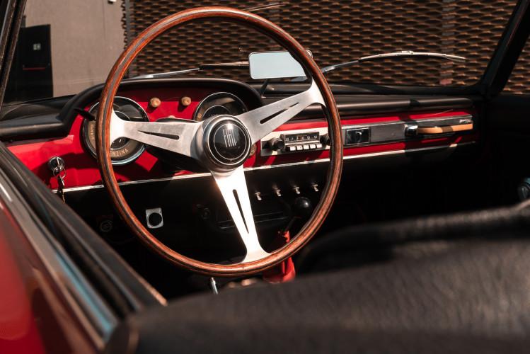 1962 Fiat 1200 Cabriolet Pininfarina 36