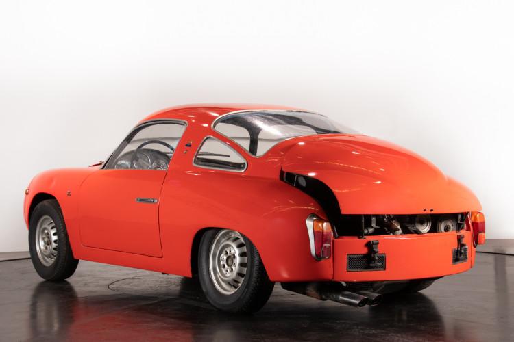 1960 Fiat Abarth 750 Bialbero record Monza 2