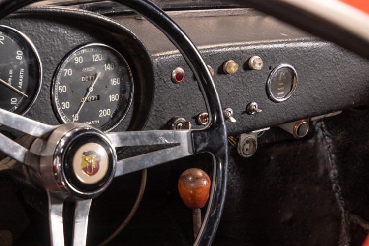 1960 Fiat Abarth 750 Bialbero record Monza 15