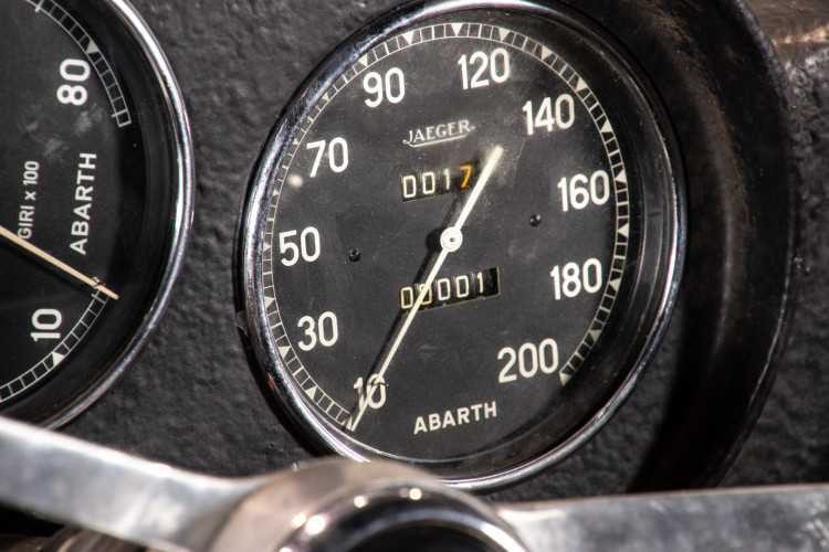 1960 Fiat Abarth 750 Bialbero record Monza 16