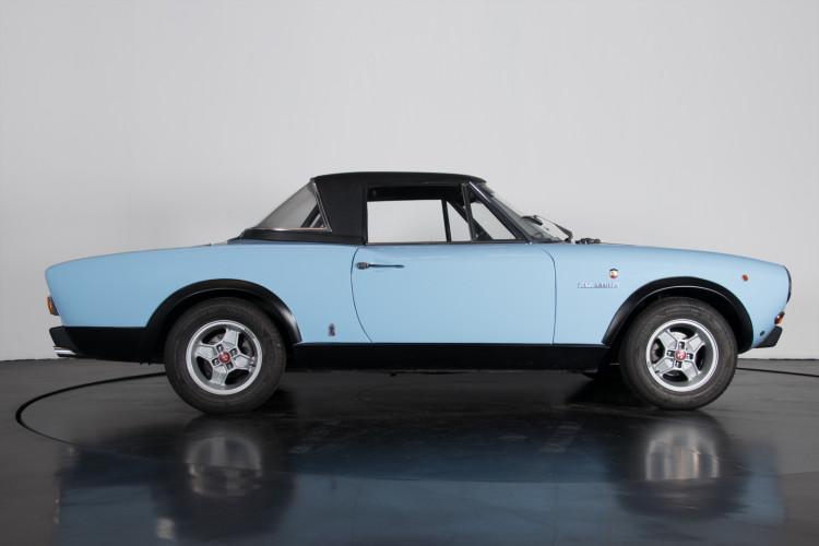 1973 Fiat 124 sport rally Abarth 7