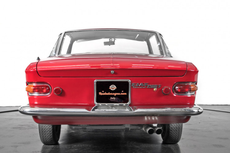 1963 Fiat 2300 S coupè 11