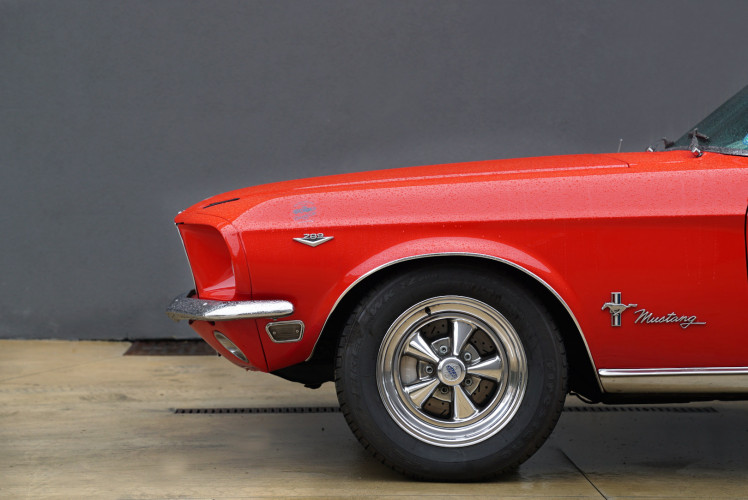 1968 Ford Mustang Convertible 76 A 1