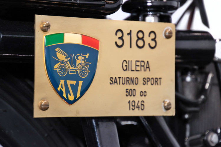 1946 Gilera Saturno 500 S 18