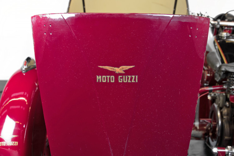 1950 Moto Guzzi S 500 Sidecar 30