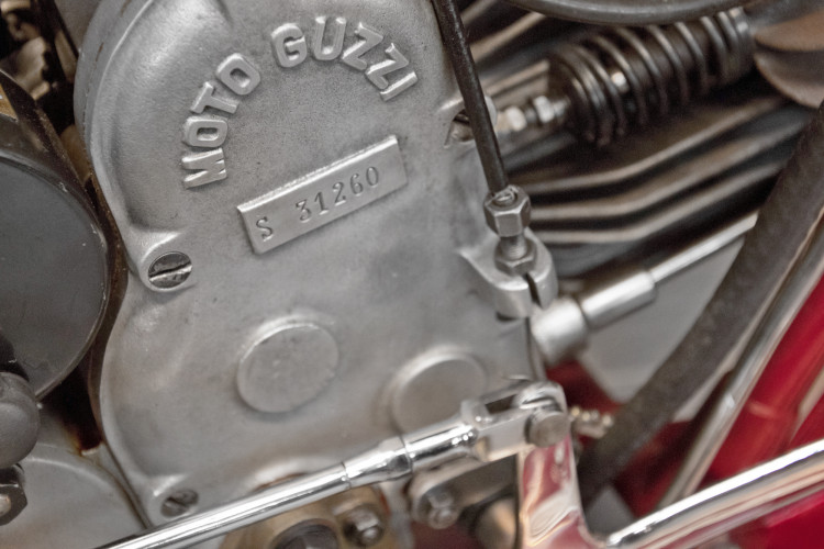 1950 Moto Guzzi S 500 Sidecar 36