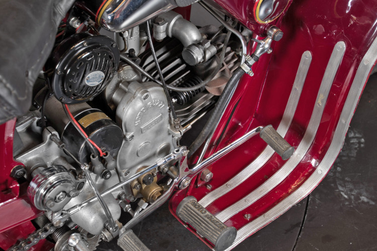 1950 Moto Guzzi S 500 Sidecar 9