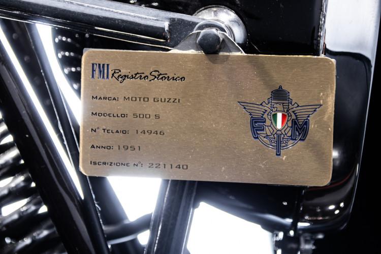 1951 Moto Guzzi 500 32