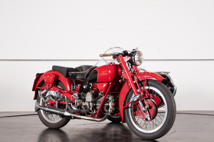 1975 Moto Guzzi 500 FS Sidecar 6