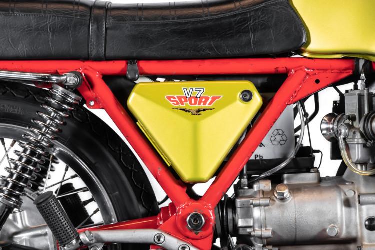 1972 Moto Guzzi V7 Sport Telaio Rosso 7