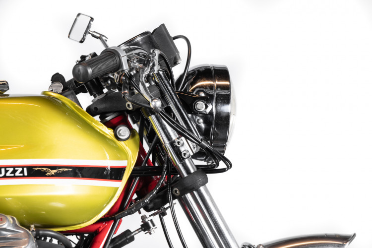 1972 Moto Guzzi V7 Sport Telaio Rosso 9