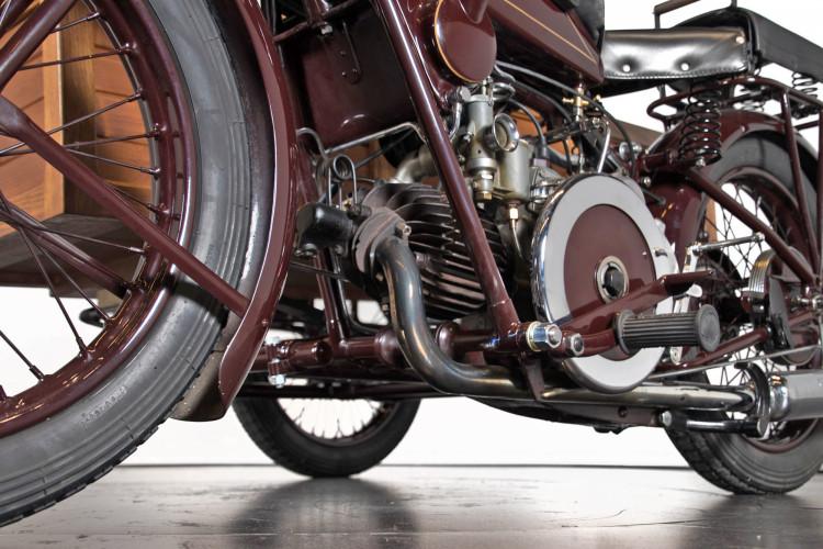 1932 Moto Guzzi Sport 15 Moto Carro 13