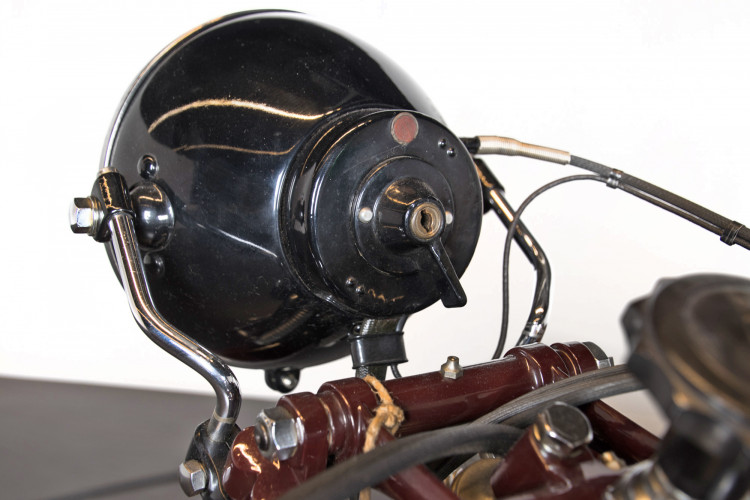 1932 Moto Guzzi Sport 15 Moto Carro 22