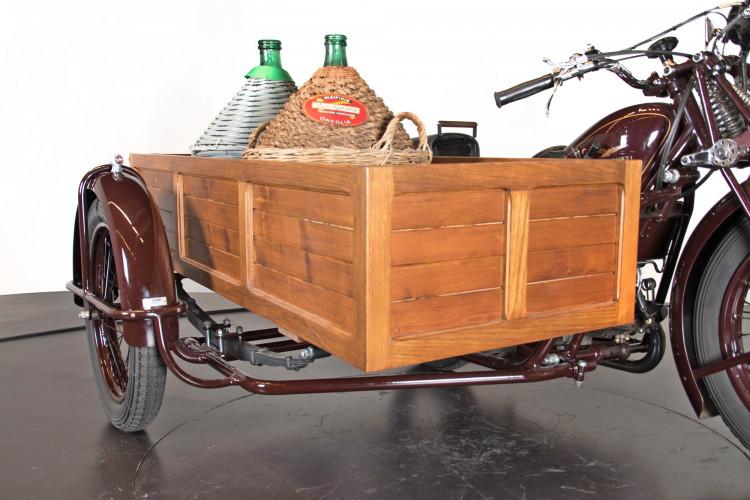 1932 Moto Guzzi Sport 15 Moto Carro 6