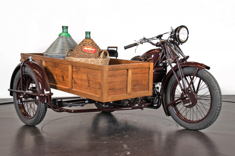 1932 Moto Guzzi Sport 15 Moto Carro 4