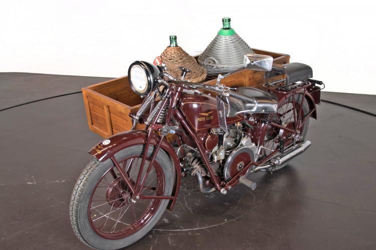 1932 Moto Guzzi Sport 15 Moto Carro 2