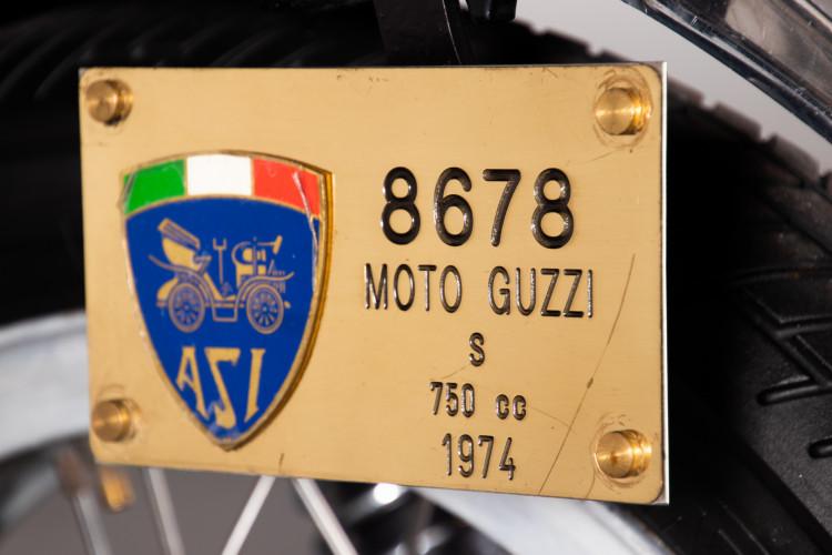1974 Moto Guzzi VK V7 Sport 8