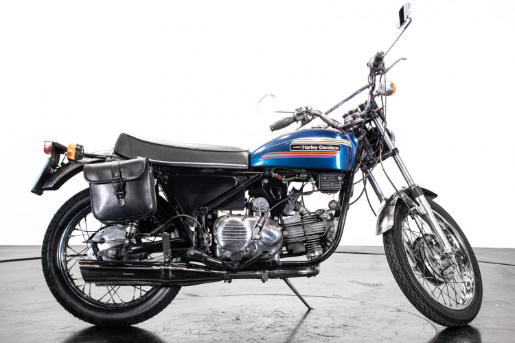 1974 Aermacchi Harley-Davidson 350 1