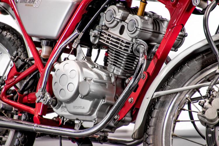 1991 Honda Dream 50 10