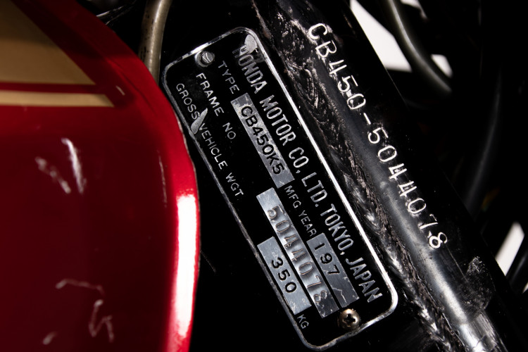 1973 Honda CB 450 28