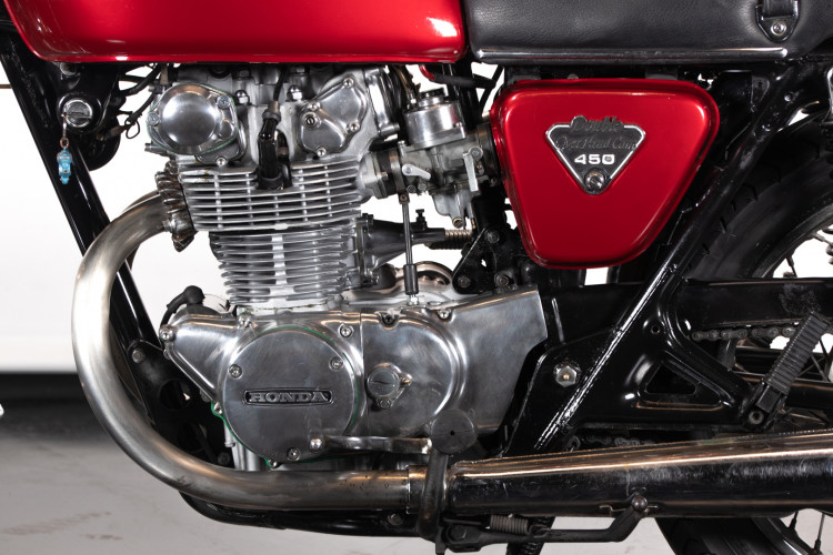 1973 Honda CB 450 12
