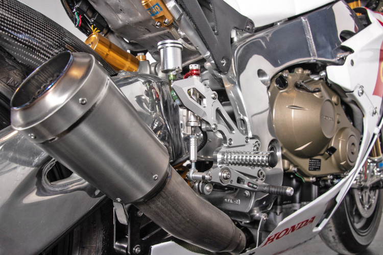 2011 Honda CBR 1000 RR Gresini Racing 30