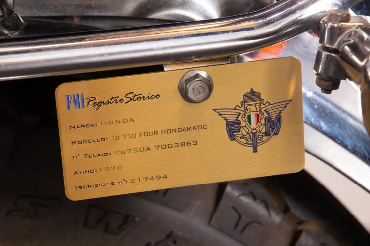 1976 Honda 750 Hondamatic 13