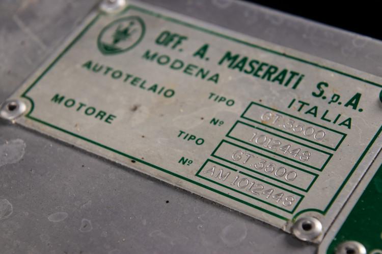 1962 Maserati 3500 GT I 30