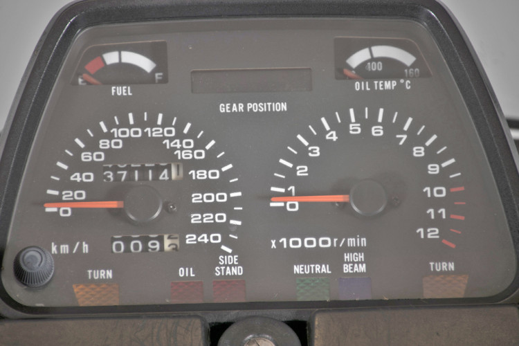 1986 Suzuki GSX 750 EF 8