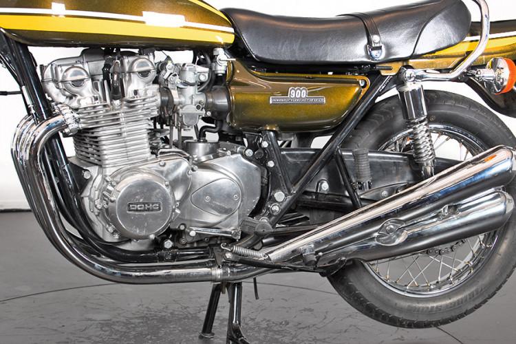 1974 Kawasaki Z1 Super 4 12