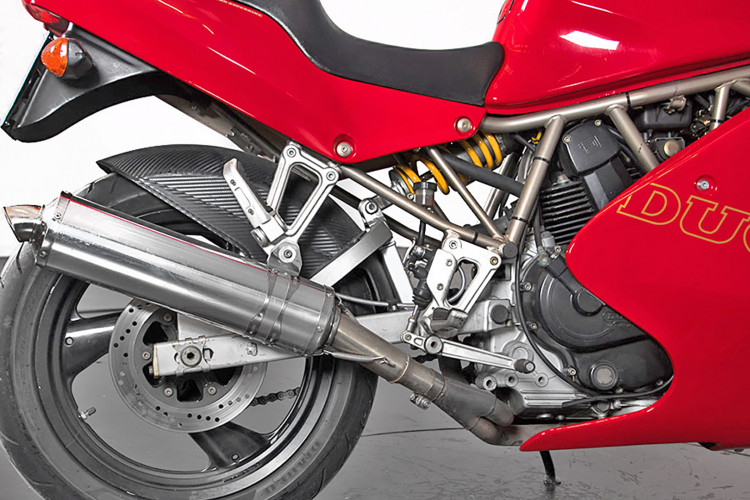 1993 Ducati 350 SS SuperSport 9