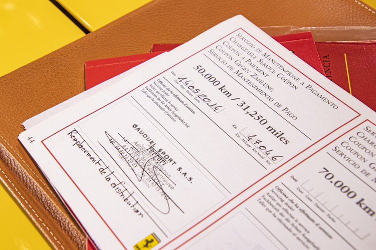 """2001 Ferrari 360 Spider """"Manuale"""" 61"""