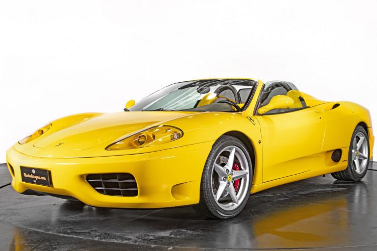 """2001 Ferrari 360 Spider """"Manuale"""" 0"""