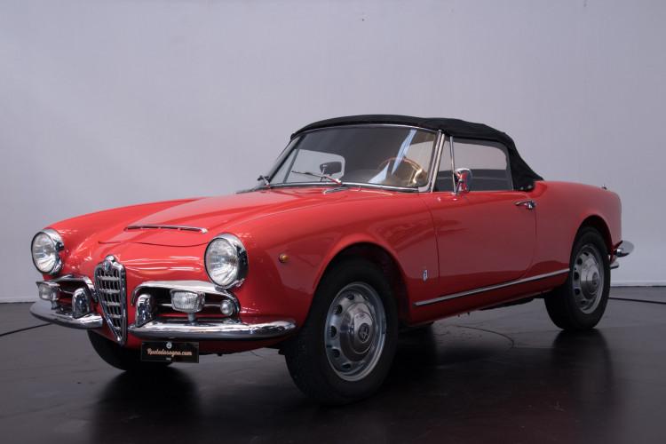 1964 Alfa Romeo Giulia 1600 Spider 0