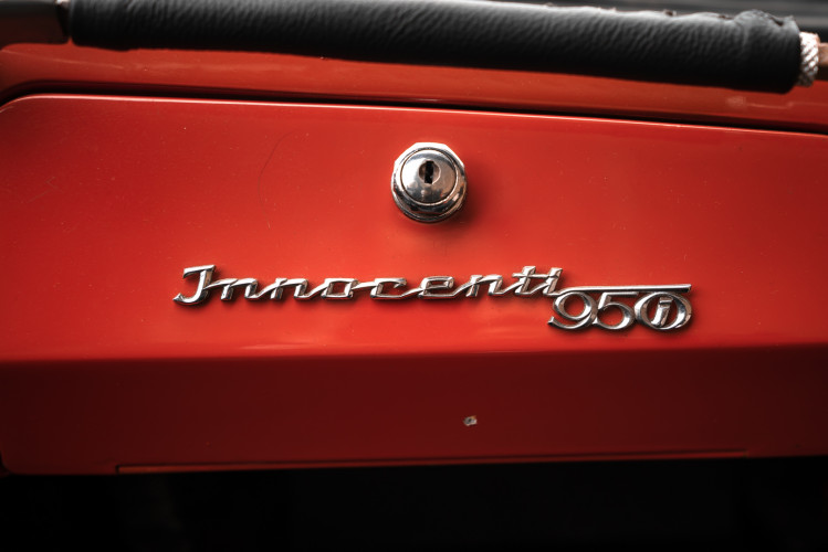 1962 Innocenti 950 Spider 40