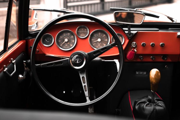 1962 Innocenti 950 Spider 32