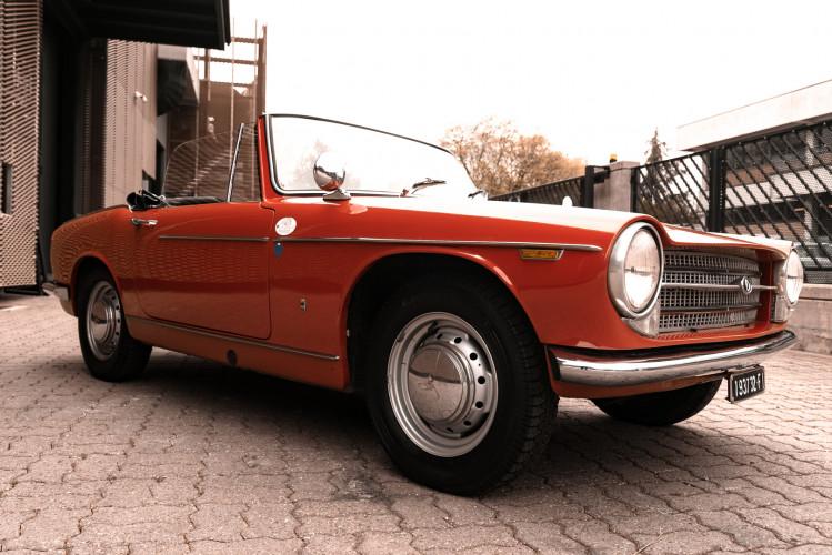 1962 Innocenti 950 Spider 9