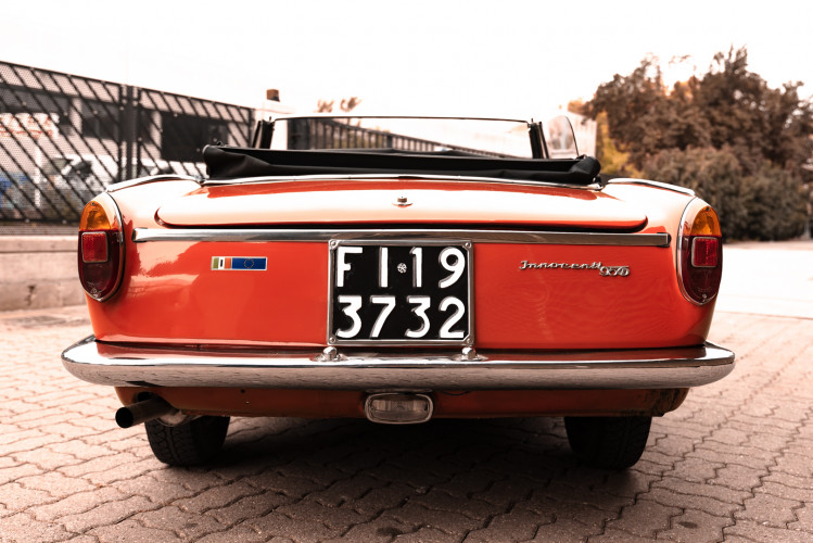 1962 Innocenti 950 Spider 10