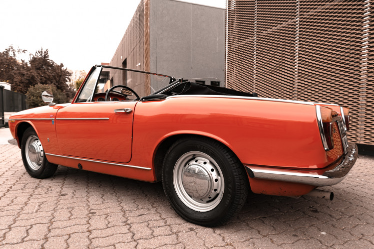 1962 Innocenti 950 Spider 15
