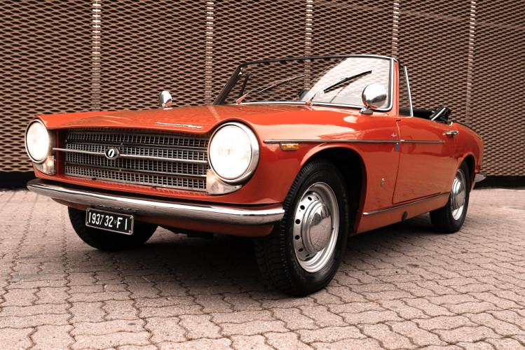 1962 Innocenti 950 Spider 3