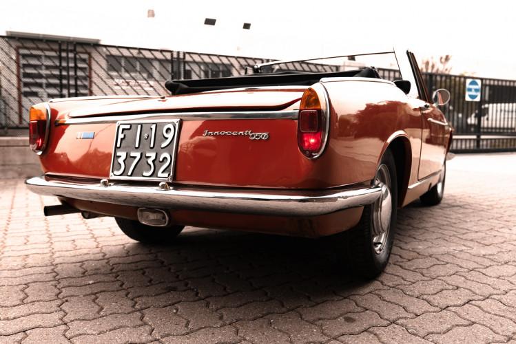 1962 Innocenti 950 Spider 11