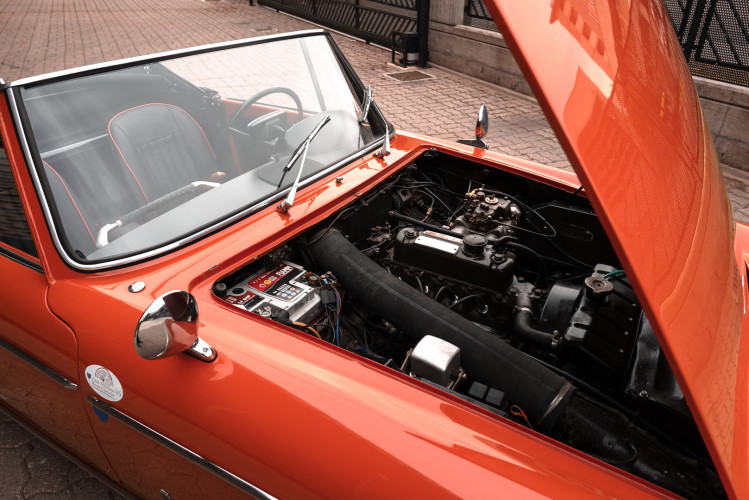 1962 Innocenti 950 Spider 49