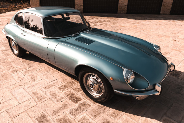 1971 Jaguar E-Type V12 Coupé 8