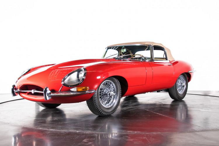 1962 Jaguar E-Type 3.8 Convertible 1° Serie 0