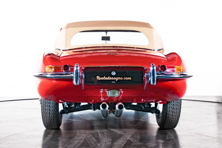 1962 Jaguar E-Type 3.8 Convertible 1° Serie 3